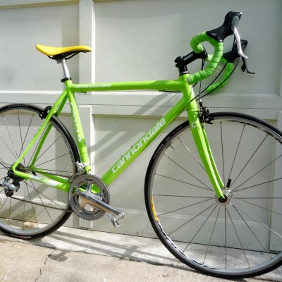 Bikes Exchange Cannondale CAAD Team Green