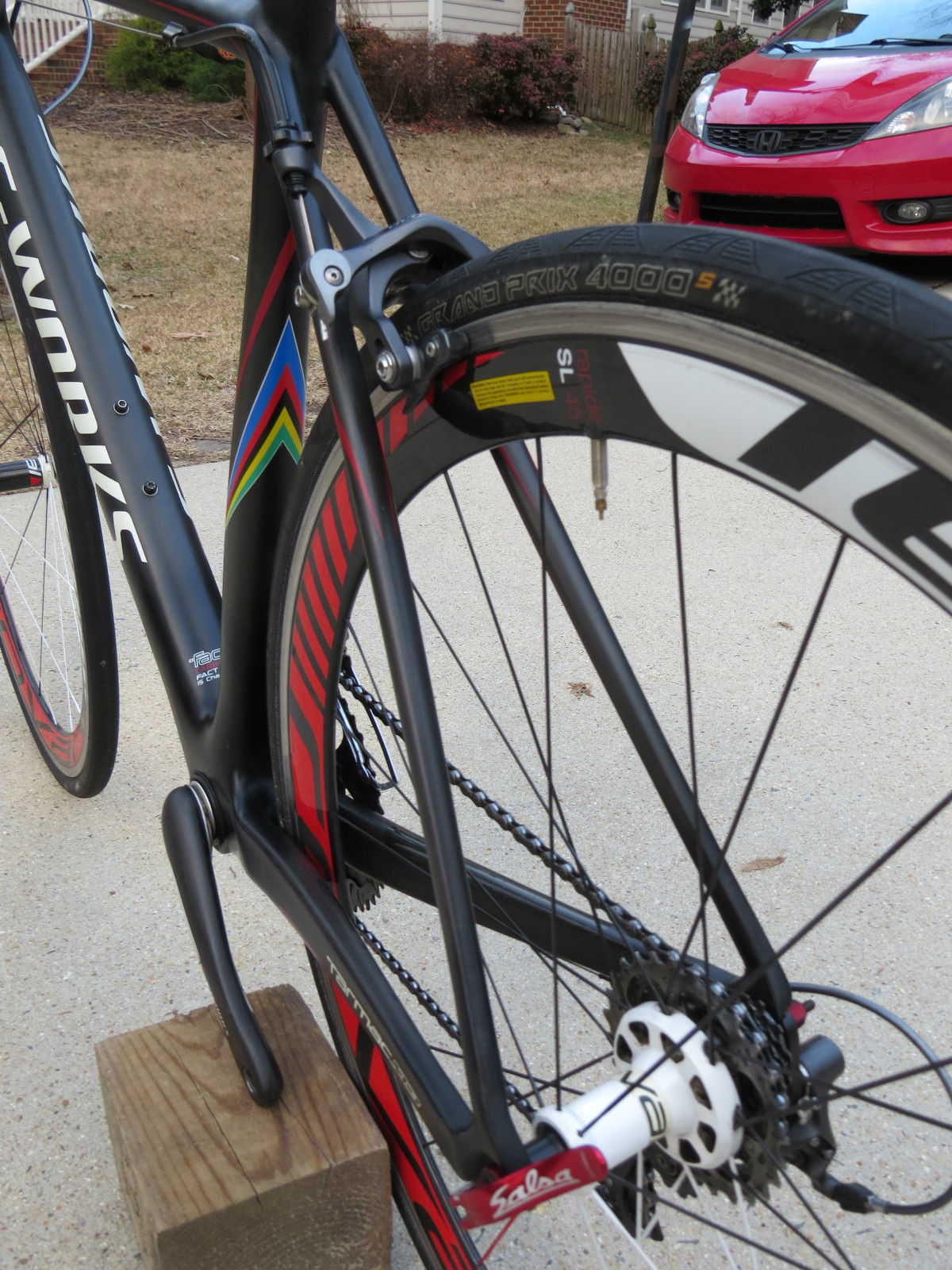 2010 Specialized S Works Tarmac Sl3 Super Light Roval Rapide
