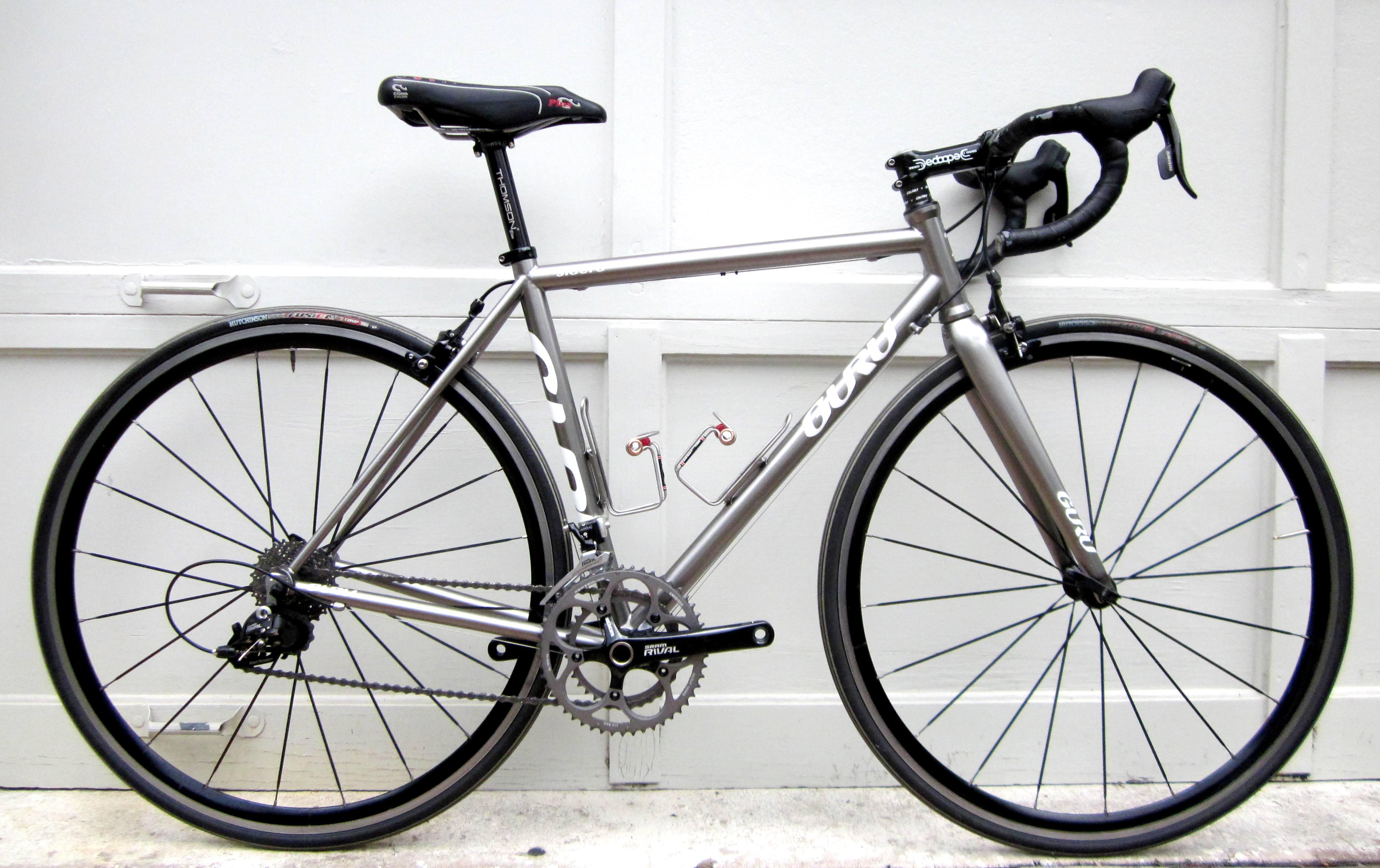 2014 GURU \'Sidero\' - lightweight Steel frame - 52cm - Houston Bike ...