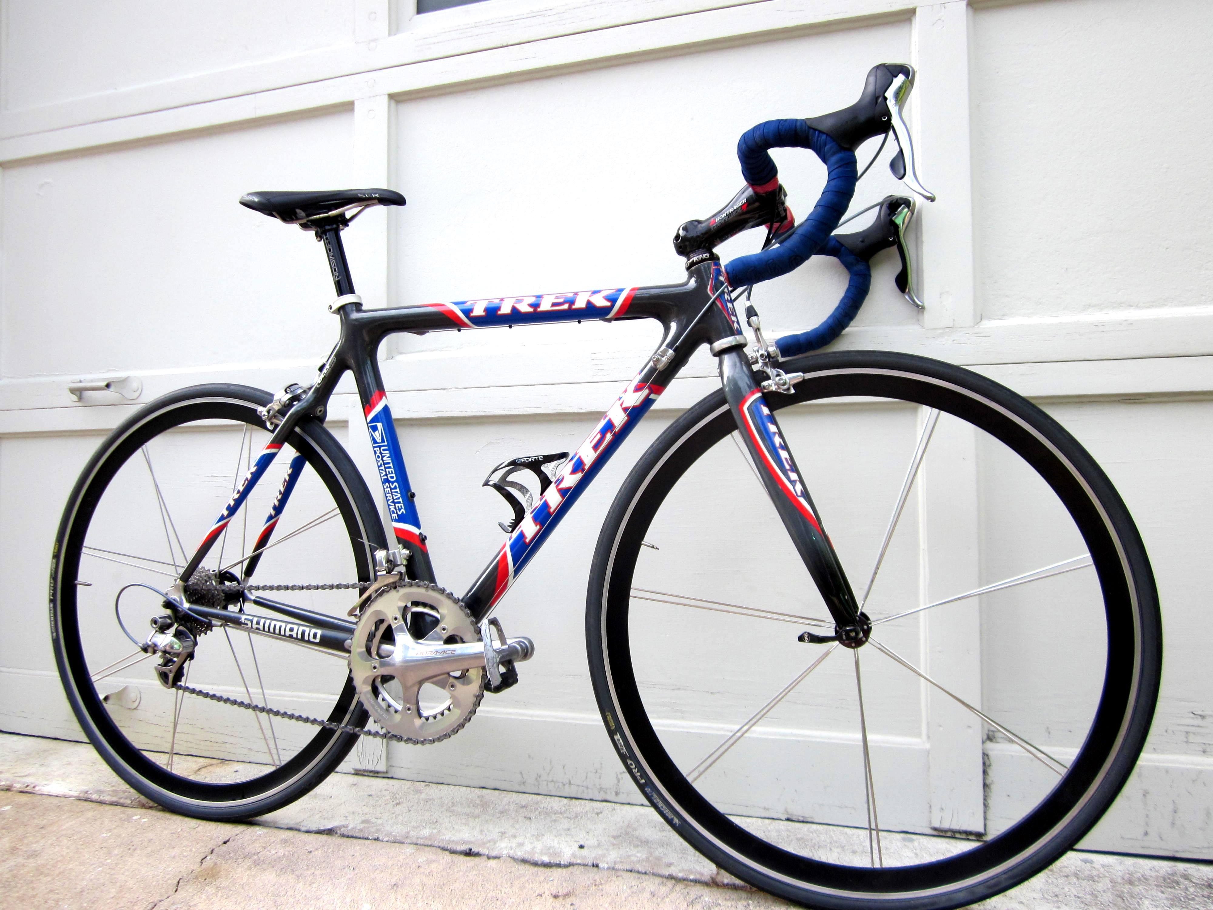 Trek 5900 Full Dura Ace Ultra Light Racing Bike 54cm