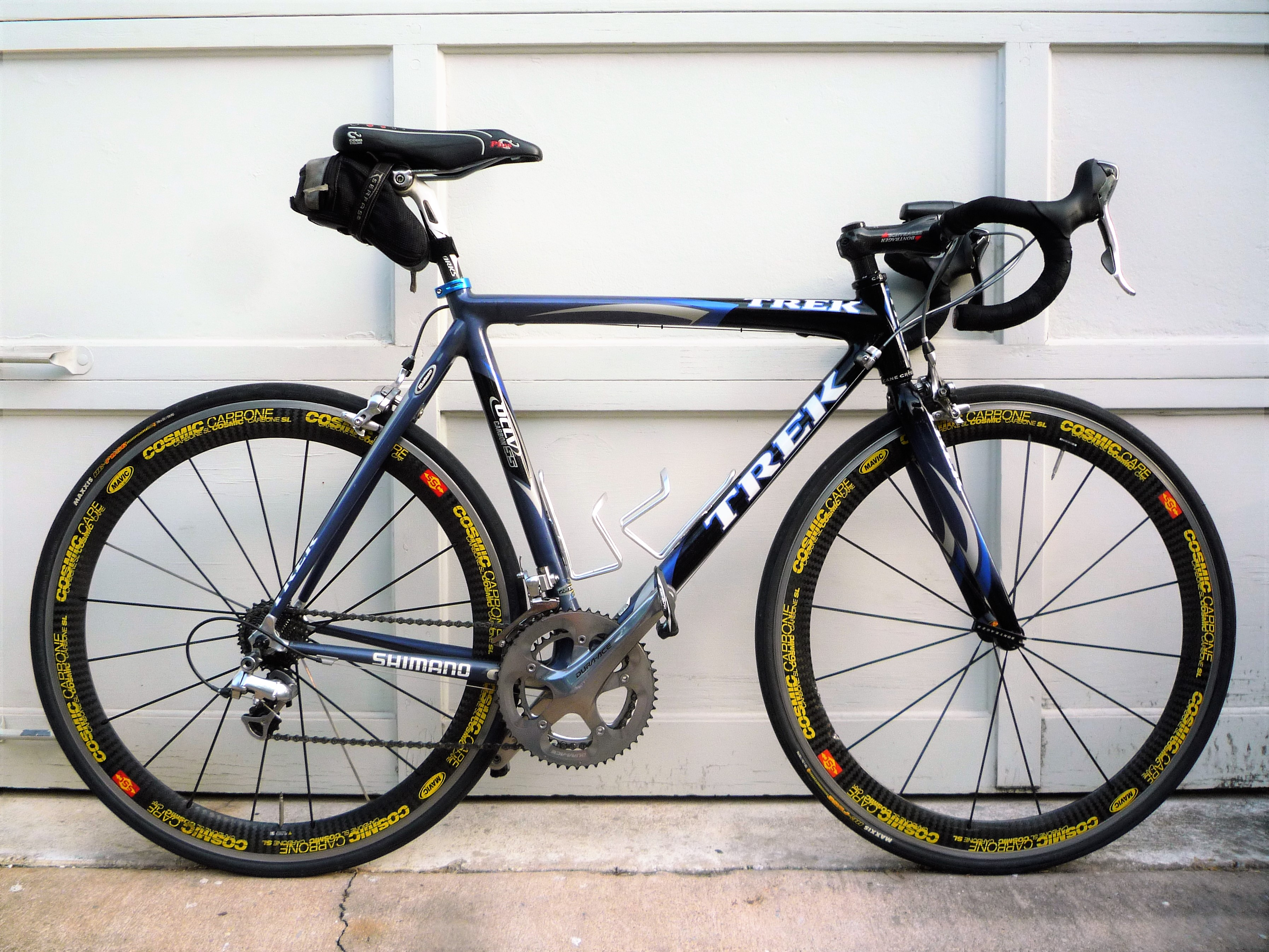 $7700 Trek SSL - Ultra-Light Road Racing Bike - OCLV 55 Carbon ...